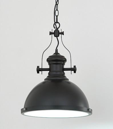 Loft工業風黑色探照燈-LS-8103-2