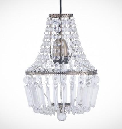 古銅華麗透明壓克力珠吊燈-BNL00021