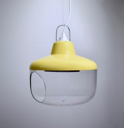 鵝黃色珍寶吊燈-BNL00134