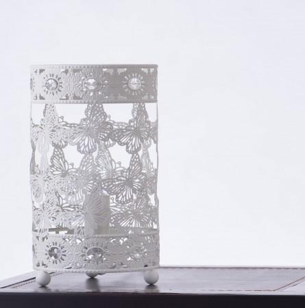 典雅樸素米白色蝴蝶桌燈-BNL00007 (開運發財燈)