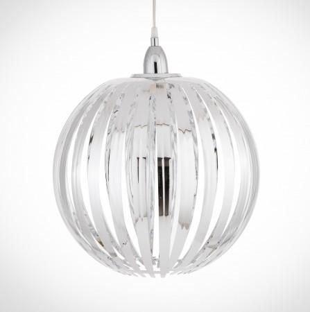 鍍鉻條圓形吊燈-BNL00054