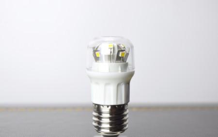 高亮度E27超小型黃光LED燈泡-可在封閉式環境用(冰箱用燈泡)