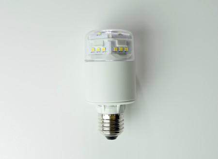 高亮度E27圓筒型黃光LED燈泡-可在封閉式環境用