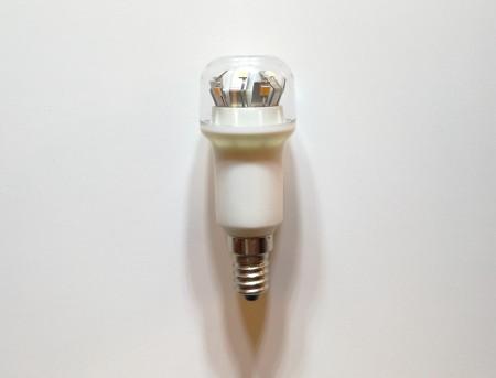 高亮度 E14 可調光LED黃光短燈泡-水晶燈專用