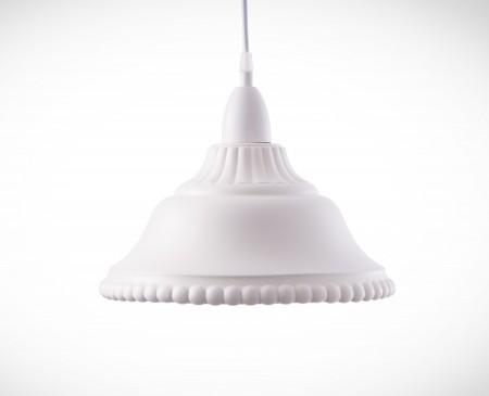 典雅樸素白色吊燈-BNL00016