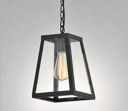 Loft工業風透光箱型單吊燈