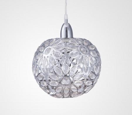 鍍鉻波斯菊吊燈-BNL00086