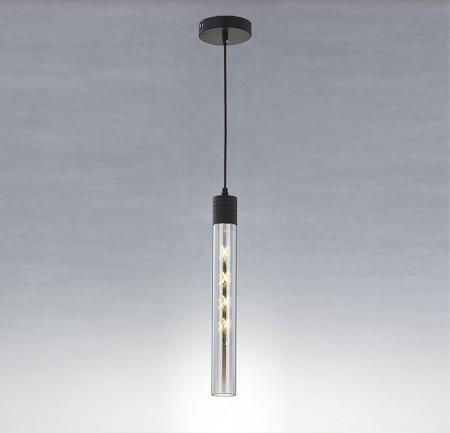 玻璃圓柱吧台吊燈