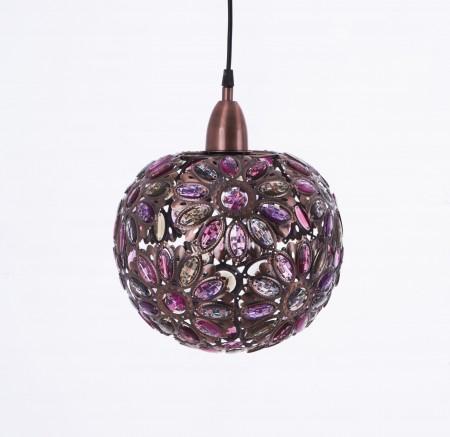 紅銅波斯蘭菊吊燈-BNL00087
