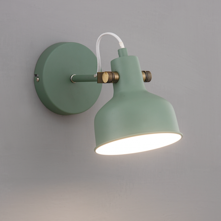 綠色探照燈壁燈