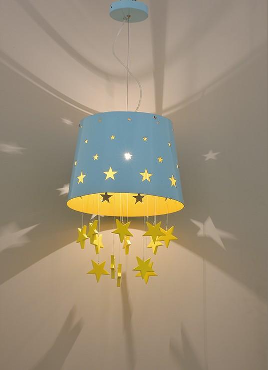 星星燈罩兒童吊燈