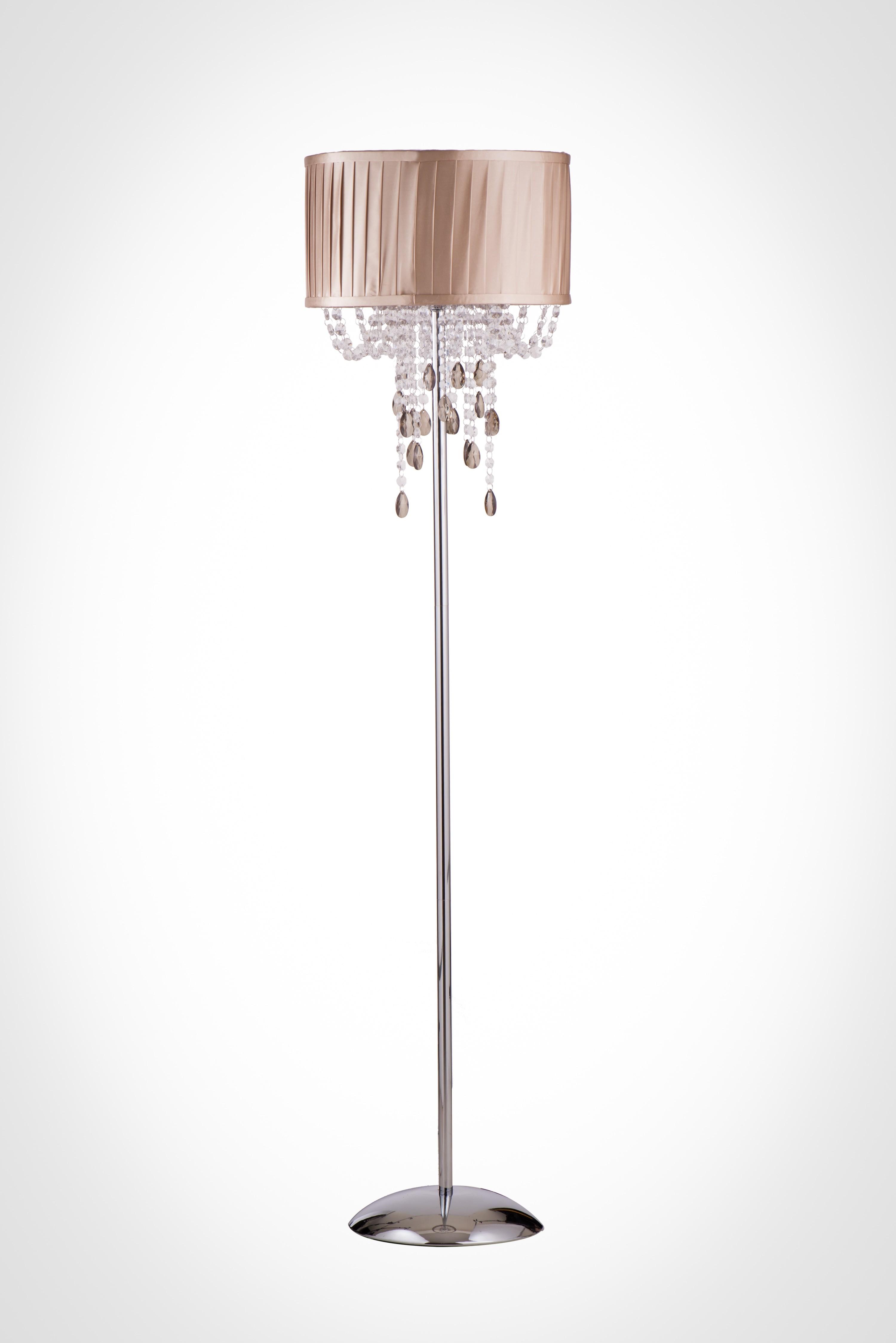 摺景布燈罩立燈-BNL00003