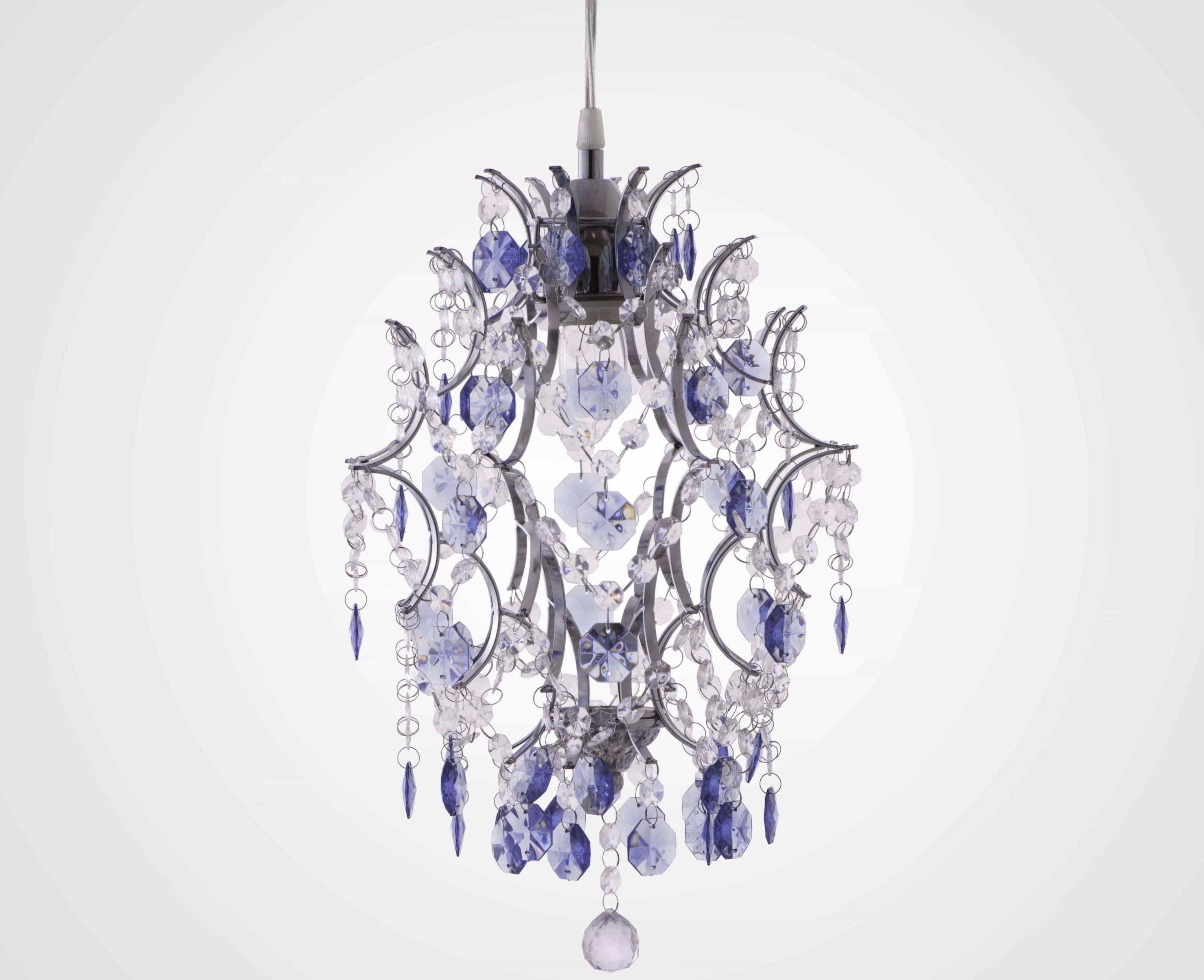 優雅鍍鉻架壓克力珠吊燈-BNL00044
