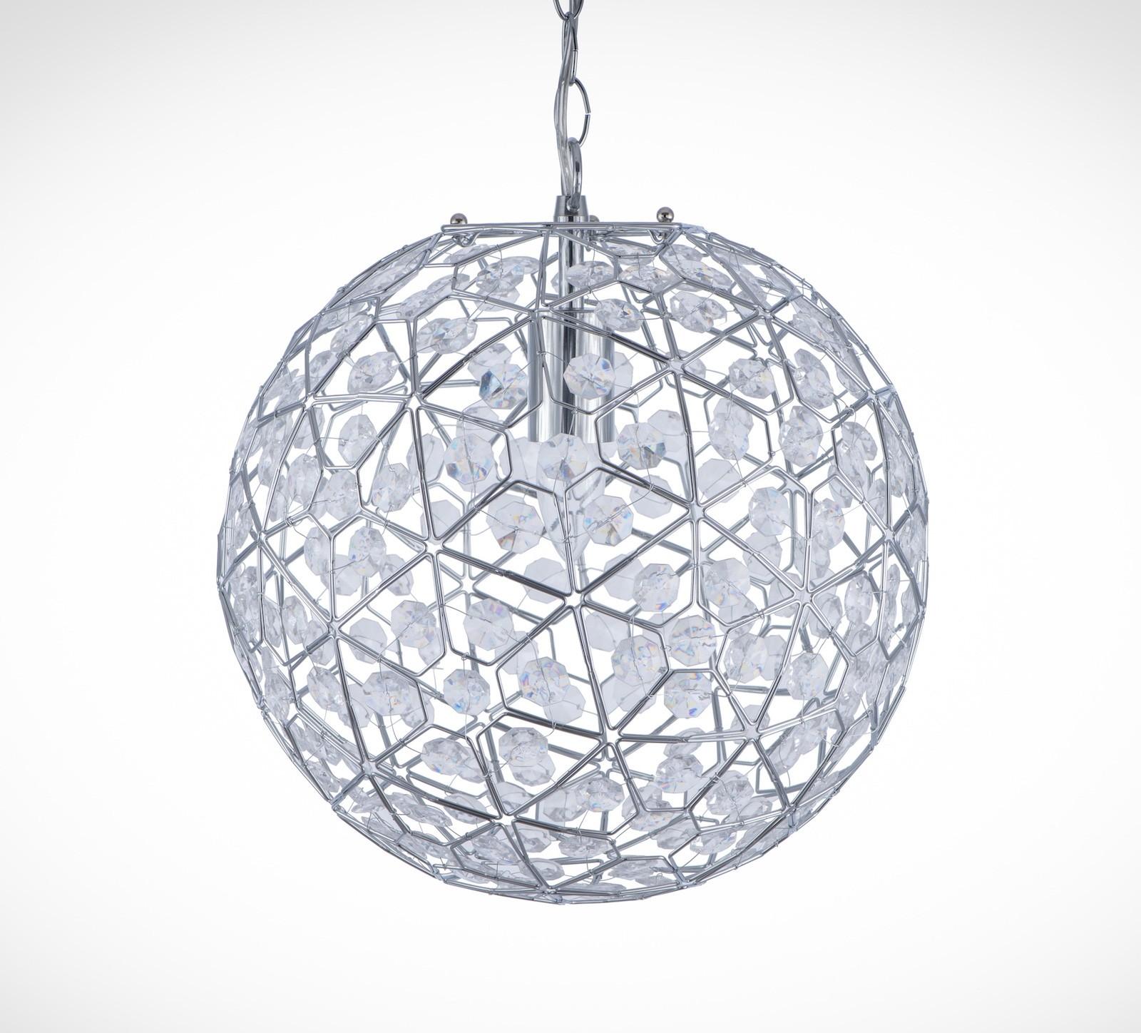 圓形幾何圖案壓克力吊燈-BNL00069