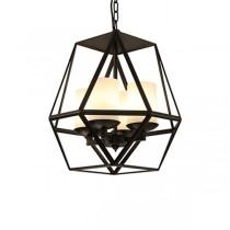 Loft仿舊蠟燭造型工業風吊燈-客製品