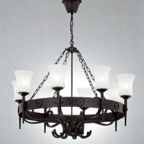 北歐風古堡燭臺吊燈-LS-7115-1