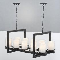 北歐風古堡燭臺吊燈