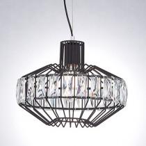 北歐風金屬水晶單吊燈-LS-7041-1