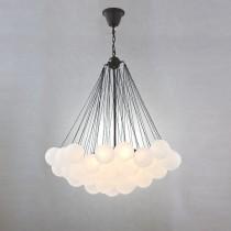 雲朵分子玻璃球吊燈