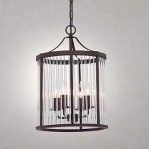 北歐風玻璃條吊燈-LS-7143-1