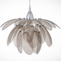 煙灰色壓克力花瓣吊燈-BNL00055