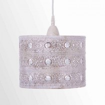 米白仿舊歐式花紋吊燈-BNL00038