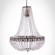 古銅華麗透明壓克力珠吊燈-BNL00050