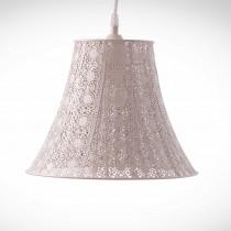 鄉村風米白吊燈-BNL00074