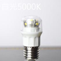 高亮度E27超小型白光LED燈泡-可在封閉式環境用(冰箱用燈泡)
