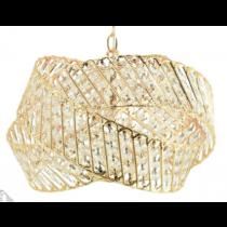 鍍金三環戒水晶吊燈-BNL00133