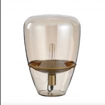紅酒杯琥珀色玻璃桌燈-客製品