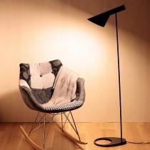 現代極簡流線AJ立燈-黑色-客製品