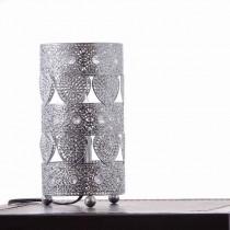 鍍鉻心形桌燈-BNL00035