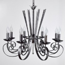 仿舊扁鐵8燈吊燈-BNL00103
