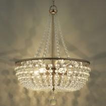 古銅華麗水晶珠吊燈