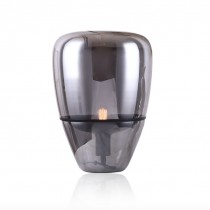 紅酒杯煙灰色玻璃桌燈-客製品