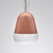 紅銅玻璃吊燈-BNL00118