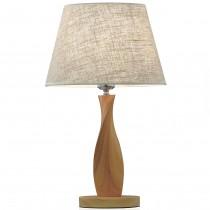 旋扭木造型桌燈