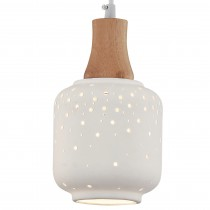 洞洞瓶透光陶瓷吊燈