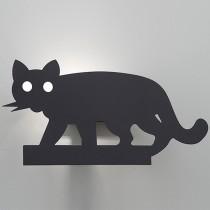 貓咪造型黑色壁燈