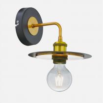 工業風飛碟盤壁燈
