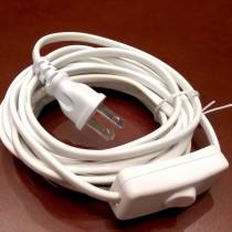 白色插座電線