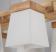 原木6燈頭吊燈